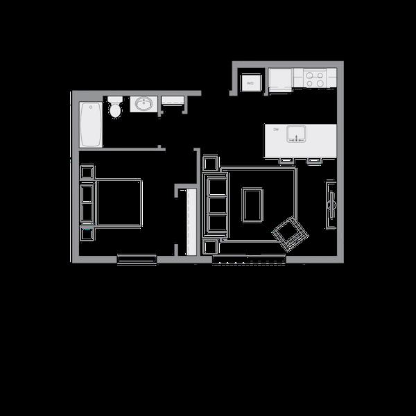 B11 - 1Bd - 587sf