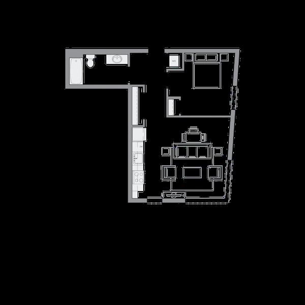 B12 - 1Bd - 648sf